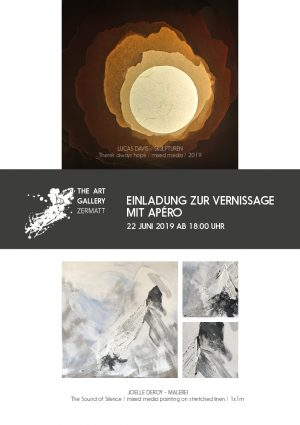 The Art Gallery Zermatt Einladung Sommer 2019
